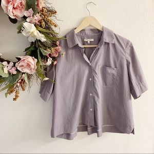 Madewell | Button Down Top with Pocket